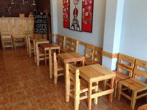 Cách lựa chọn bàn ghế cho quán cà phê