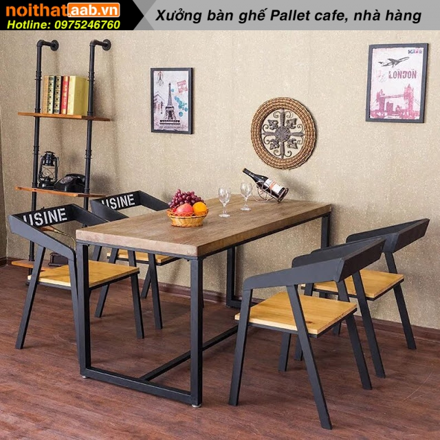 Bộ bàn ghế cà phê đẹp lạ