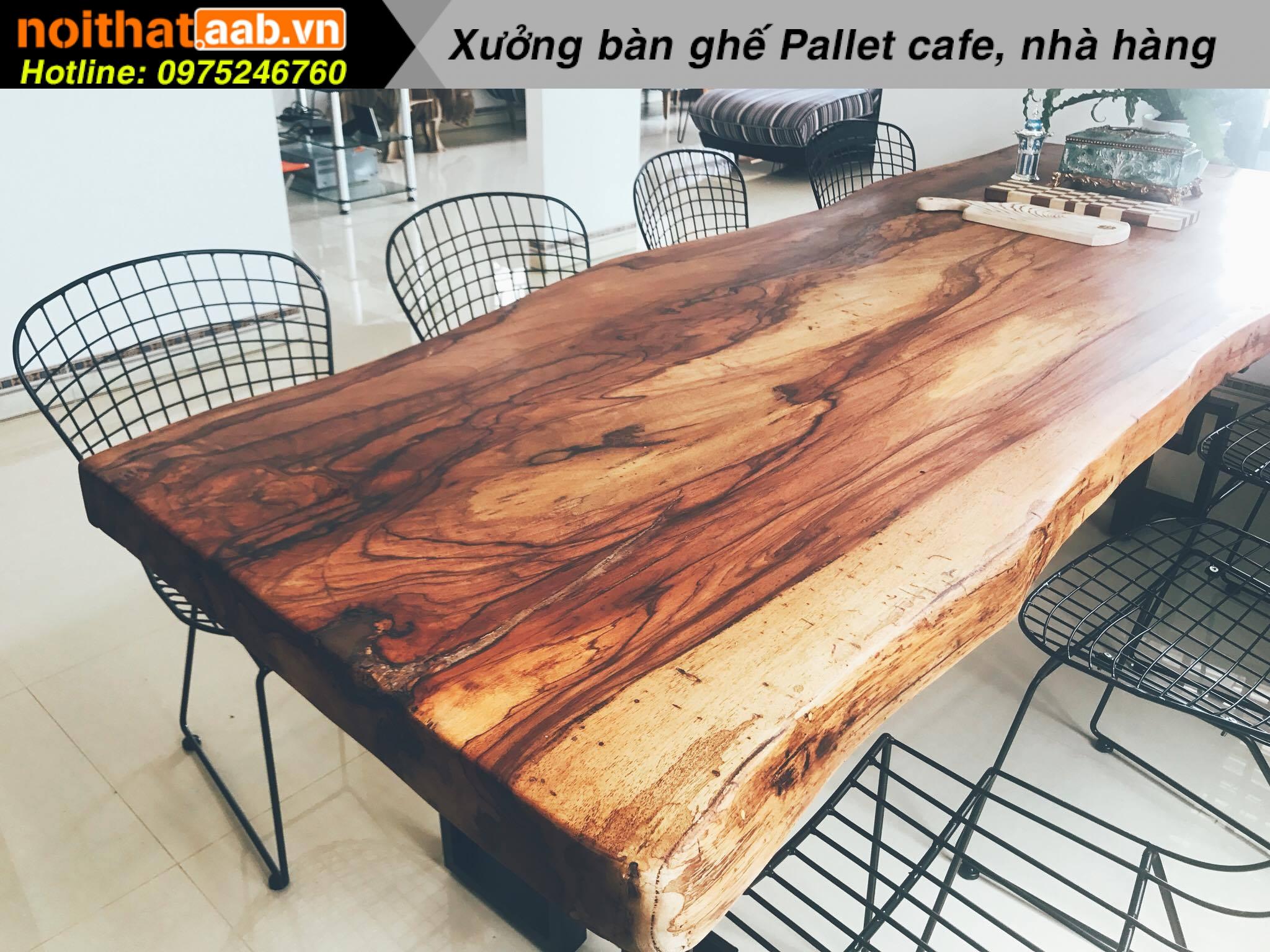 Lựa chọn gỗ cho bàn ghế