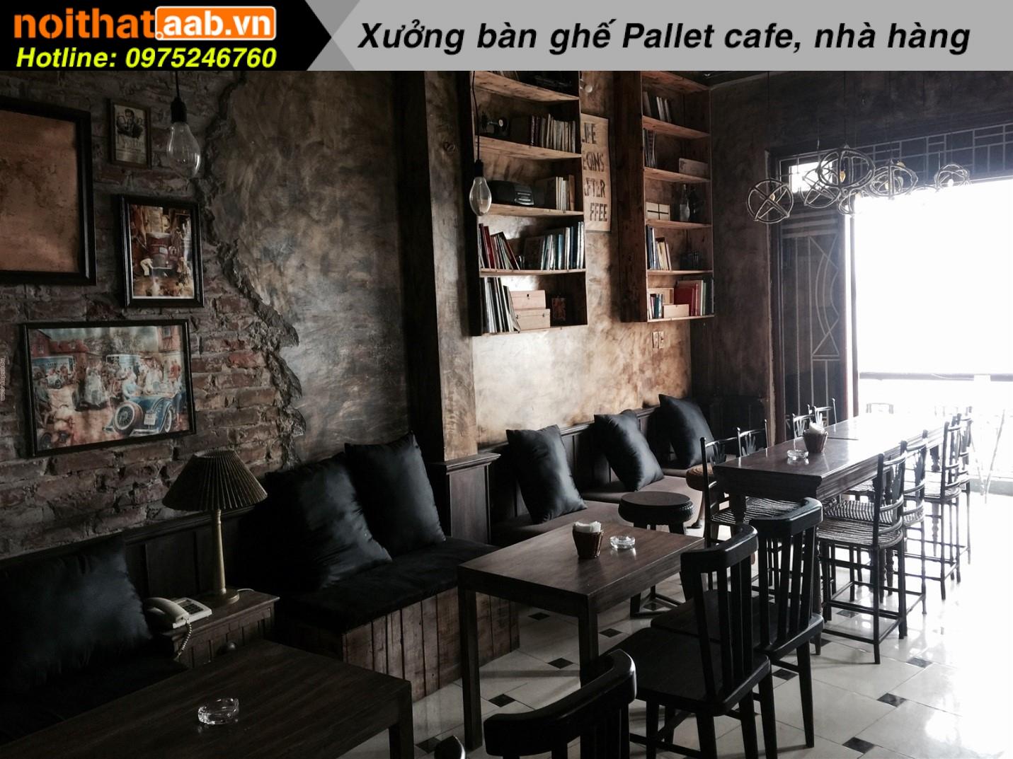 Thiết kế quán cà phê đẹp phong cách cổ điển