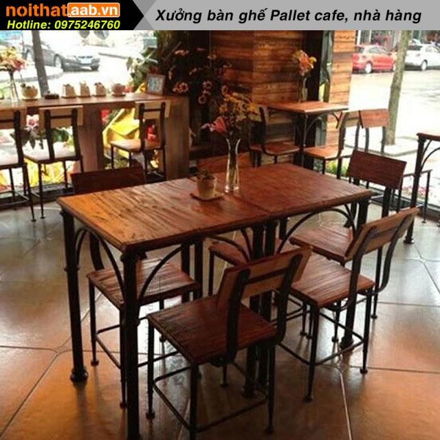 Bàn ghế cà phê đẹp độc phong cách với sự đơn giản