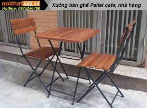 Đại lý bàn ghế cà phê giá rẻ HCM