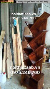 Kệ sách bằng gỗ